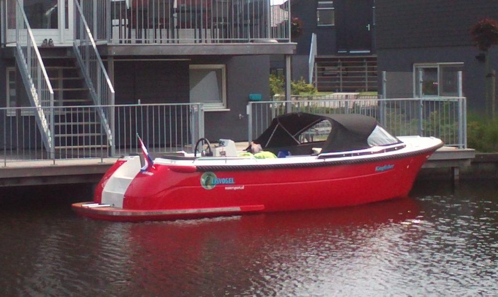 IJsvogel watersport Terherne bootverhuur Primeur 700 sloep
